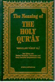 The Meaning of The Holy Qua'an
