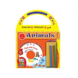 الحيوانات- الروضة - عربي- إنكليزي - فرنسي